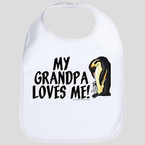My grandpa loves me! (penguin Bib