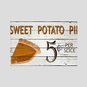 Sweet Potato Pie Rectangle Magnet