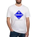 Wet Danger Fitted T-Shirt