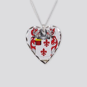 Fritz Coat of Arms Necklace Heart Charm