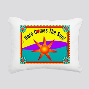 Sunshine Rectangular Canvas Pillow
