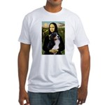 Mona's Bernese Mt. Dog Fitted T-Shirt