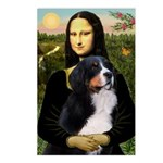 Mona's Bernese Mt. Dog Postcards (Package of 8)