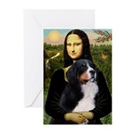 Mona's Bernese Mt. Dog Greeting Cards (Pk of 10)