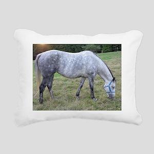 Dapple mare Rectangular Canvas Pillow