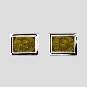 Casascius Bitcoin Cufflinks