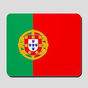 Portuguese Flag of Portugal Mousepad