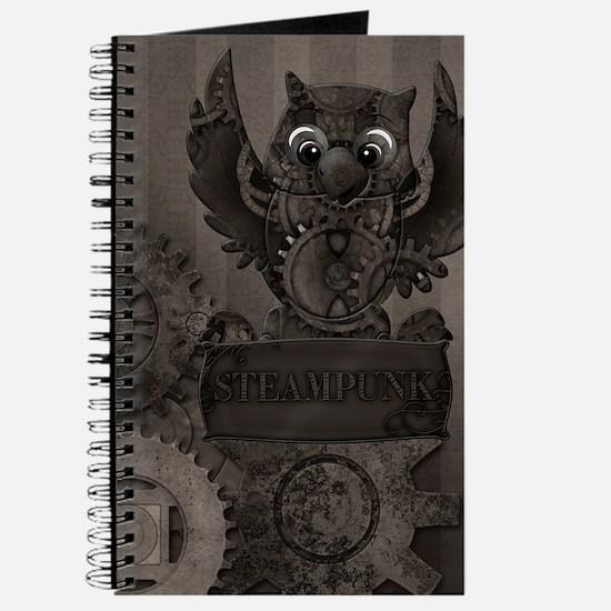 Steampunk Owl Journal