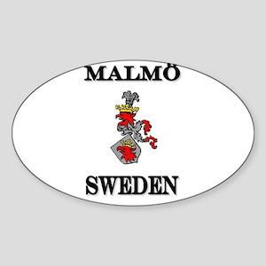 The Malmö Store Oval Sticker