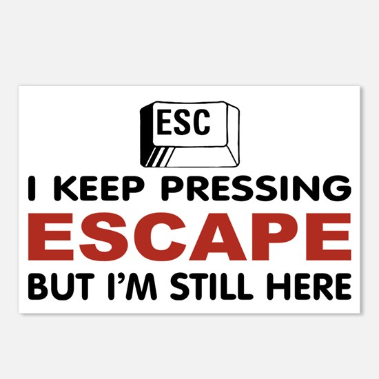 Escape Key Postcards (Package of 8)
