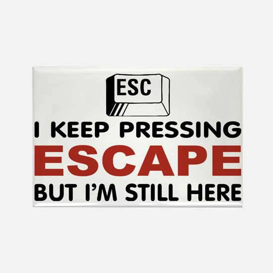 Escape Key Rectangle Magnet