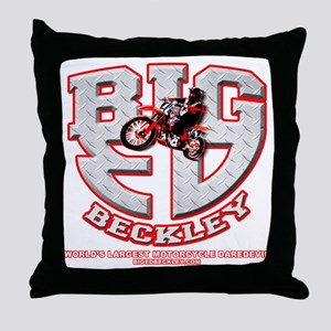BIGED emblem Throw Pillow