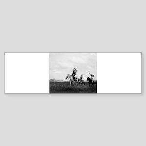 Lakota Horsemen Historical Ph Bumper Sticker