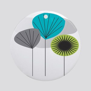 MCM 5 canvas Round Ornament