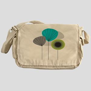 MCM 5 canvas Messenger Bag