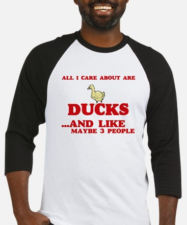All I care about are Ducks Baseball Jersey