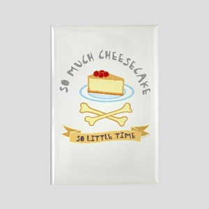 Cheesecake Lover Rectangle Magnet