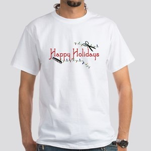 Happy Hairstylist Holidays White T-Shirt