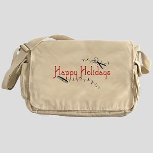Happy Hairstylist Holidays Messenger Bag