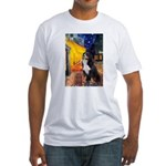 Cafe & Bernese Fitted T-Shirt