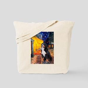 Cafe & Bernese Tote Bag