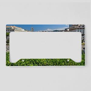 Piazza della Vittoria License Plate Holder