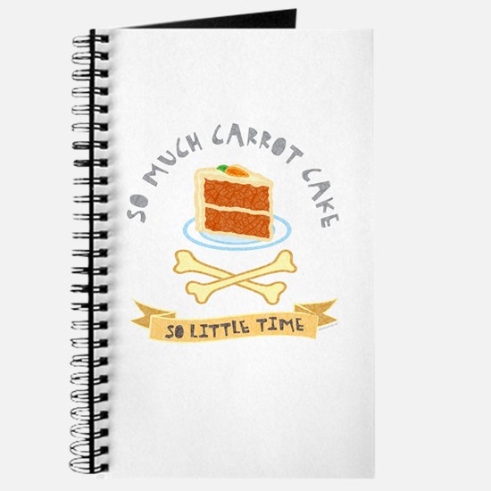 Carrot Cake Lover Journal