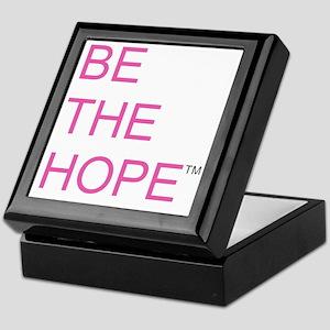 Be the Hope in Black Keepsake Box