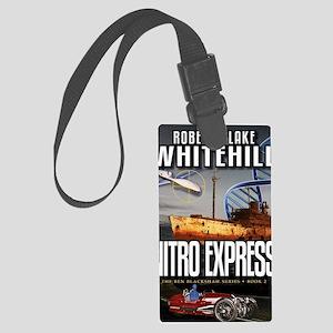 Nitro Express Cover Art Large Luggage Tag