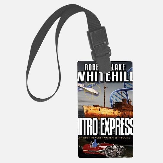 Nitro Express Cover Art Luggage Tag
