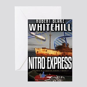 Nitro Express Cover Art Greeting Card