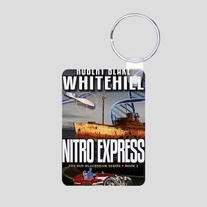 Nitro Express Cover Art Aluminum Photo Keychain