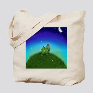 Turtle Moon and Stars (lunch) Tote Bag