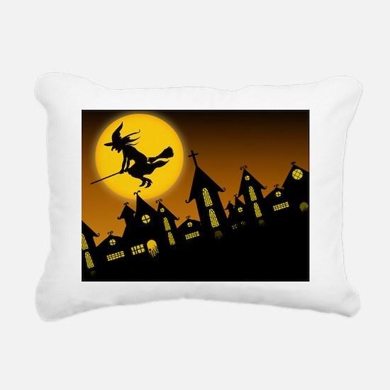 Spooky Halloween 2 Rectangular Canvas Pillow