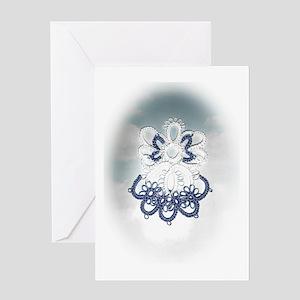 Tatting Book ELAYNE DONE (2) Greeting Cards