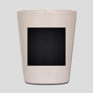 Carbon Mesh Pattern Shot Glass