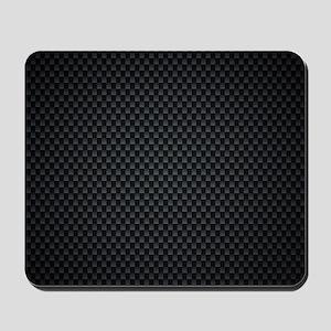 Carbon Mesh Pattern Mousepad