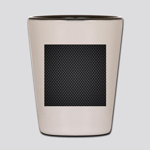 Carbon Mesh Pattern Shot Glass