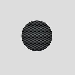 Carbon Mesh Pattern Mini Button
