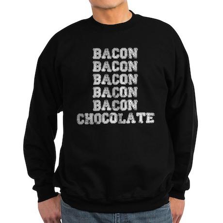 Bacon and Chocolate Sweatshirt (dark)