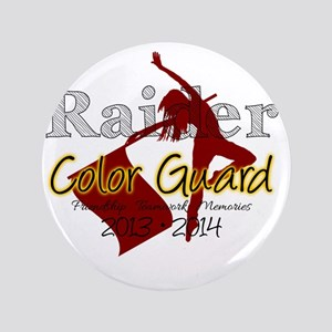 "TJ Raider Color Guard 3.5"" Button"