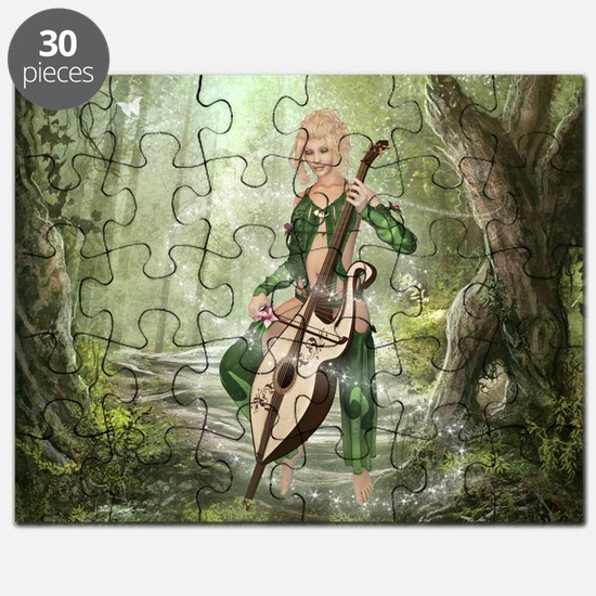 The Elven Forest Puzzle