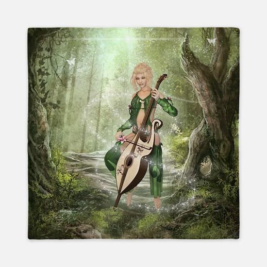 The Elven Forest Queen Duvet