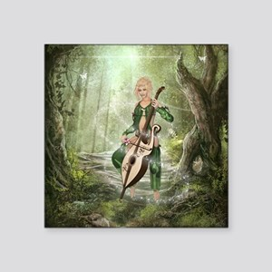 """The Elven Forest Square Sticker 3"""" x 3"""""""