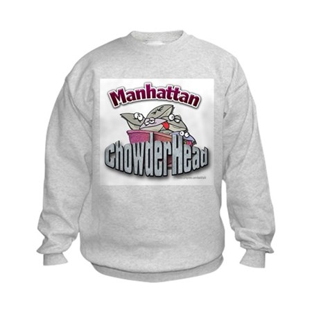 Manhattan ChowderHead... Kids Sweatshirt