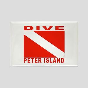 Dive Peter Island, B.V.I. Rectangle Magnet