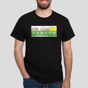 Peter Island, B.V.I. Dark T-Shirt