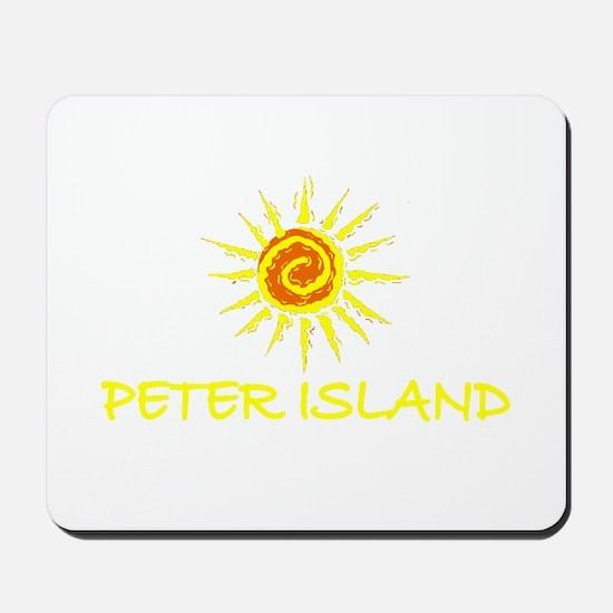 Peter Island, B.V.I. Mousepad