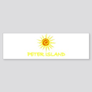 Peter Island, B.V.I. Bumper Sticker