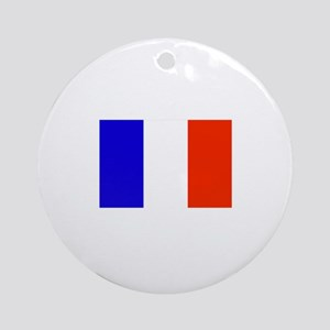 St. Barths Flag Ornament (Round)